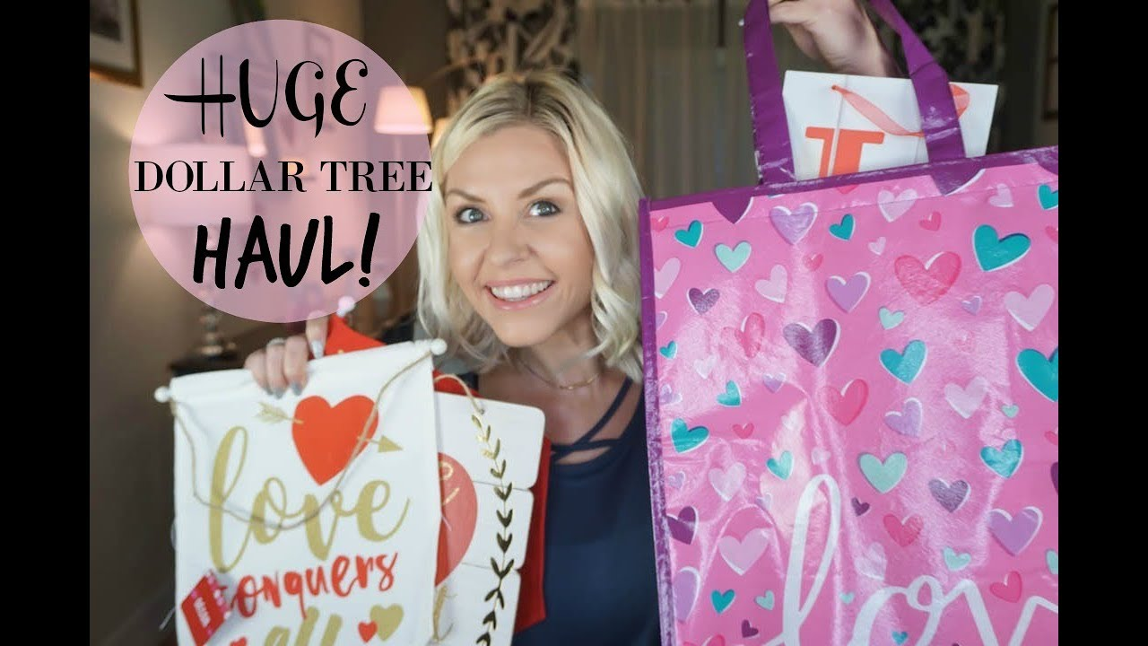 Huge Dollar Tree Haul New Finds At Dollar Tree Valentines Day