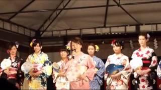 第27回ミス富士山コンテストにおいて、元女子プロレスラーの植松寿絵さ...