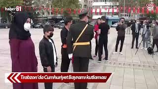 Trabzon'da Cumhuriyet Bayramı Kutlaması