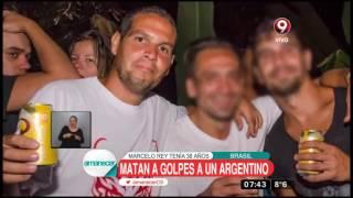 Matan a golpes a un argentino en isla turística de Brasil