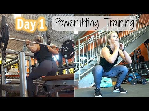 How to begin Powerlifting like a Lady Meet Staci