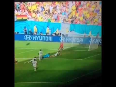 Cristiano Ronaldo Goal   Portugal vs Ghana (2-1 )World Cup 2014