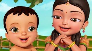 ভাই আর বোন এর সম্পর্ক   Bengali Rhymes for Children   Infobells