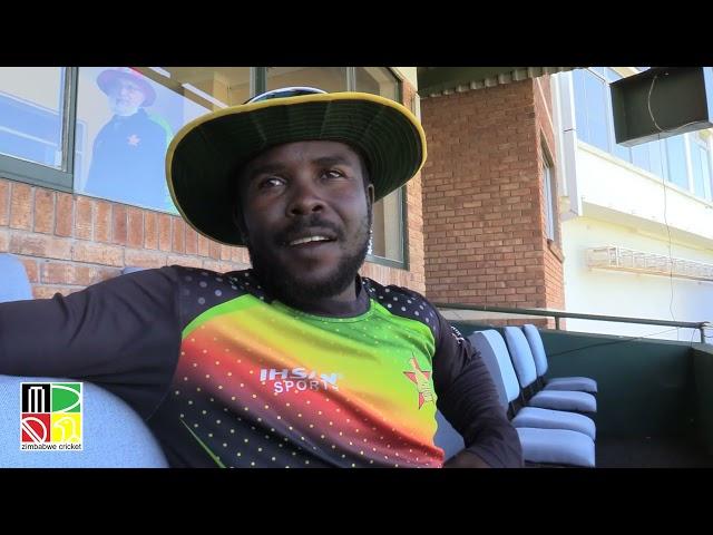 Stuart Matsikenyeri Speaks As Zimbabwe Prepare For Second Test Versus Pakistan