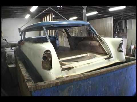 Metaldipping 56 Chevy Nomad Youtube