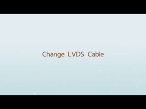 WINHI: How to change LVDS Cable of a panel