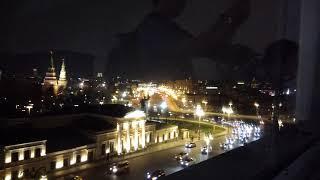 Москва. Вид на Большой каменный мост из Библиотеки. 20 апреля 2019 г.
