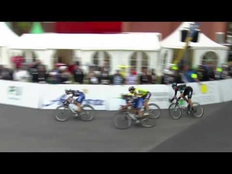 Danny Van Poppel's incredible crash save in Tour de Suisse