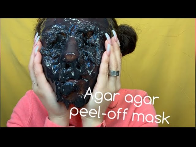 Agar Agar Peel-Off Mask