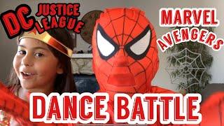 Fortnite Dance Challenge? How About Marvel VS DC Comics Battle (Kids 2018)