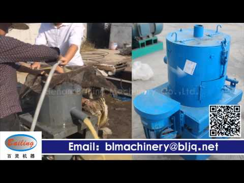 Small scale gold mining centrifuge gold concentrator machine test