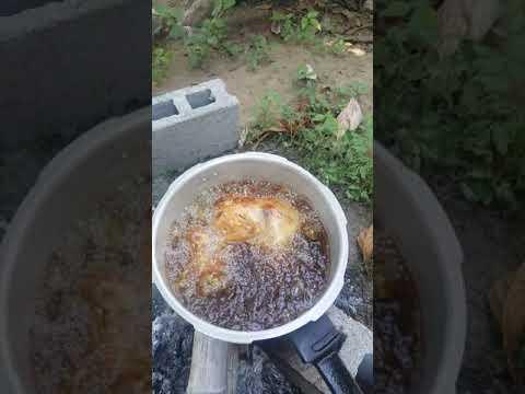 Wooowww Cooking Real Kinoday Chicken In The Philipina Hehe