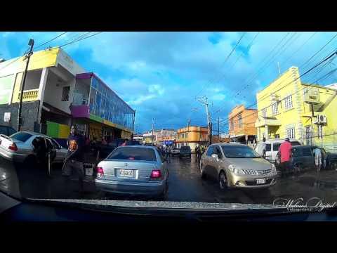 Mandeville Jamaica  after a rainy day Part 2
