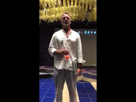 John Schneider Off Shore at St Pierre Hotel New Orleans Nov 4, 2015
