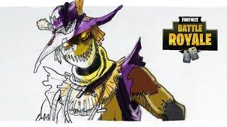 FORTNITE New Skins | LEHRER draws Scarecrow