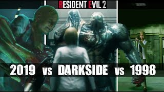 Annette Birkin's Death? - RE2 Remake VS Original RE2 VS Darkside Chronicles Cutscene Comparison