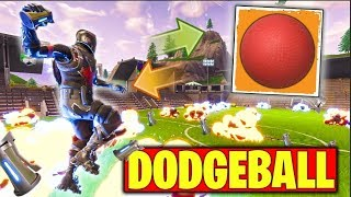 DODGEBALL IN FORTNITE IS HILARIOUS!