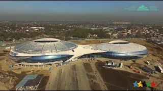 Almaty presented Ice Hockey Arena -28th Winter Universiade 2017 Almaty - FISU 2016