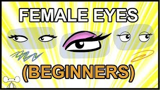 How to Draw Female Eyes for Beginners