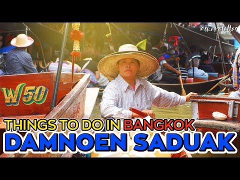 [ omaralattas ] Bangkok Day 4: Damnoen Saduak & Maeklong Railway Market