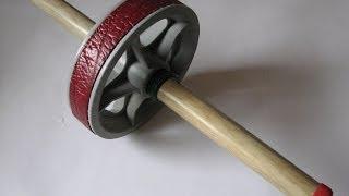 Как сделать гимнастическое колесо- ролик