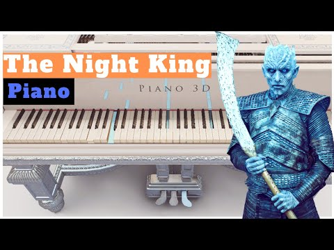The Night King Medley - Game of Thrones | Piano Tutorial | NEW Synthesia