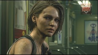 Resident Evil 3 Remake All Cutscenes Movie part 1 Demo