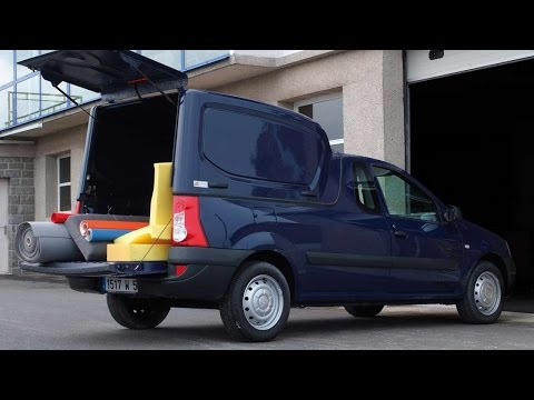 #4929. Dacia Logan Pick Up Hard Top 2009 (потрясающее видео)
