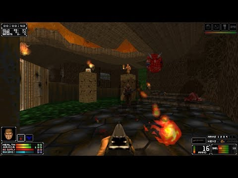 NOVA: The Birth [Doom II] Map 05 'Hazard Facility'