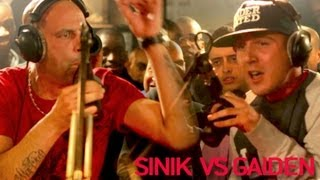 Sinik vs Gaiden - Clash (Official Video)