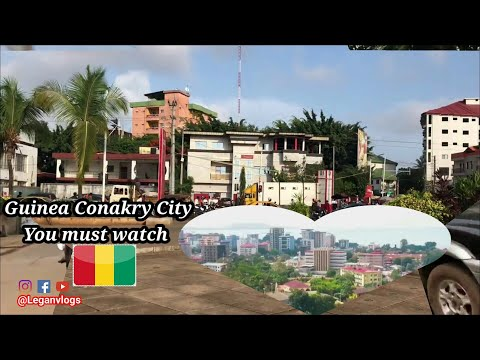 Discover Conakry City  the capital of  Guinea (you must watch).
