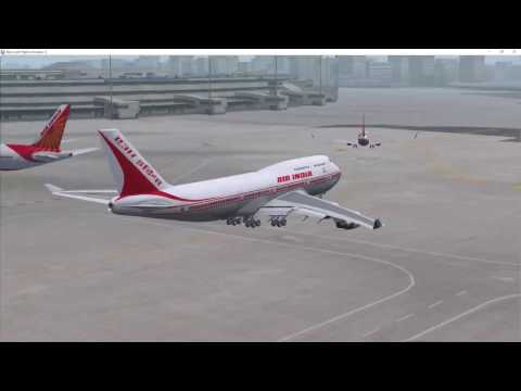 VATSIM Flying from Mumbai to Karachi