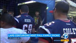 LAPD Centurions Host Annual Fall Family Picnic