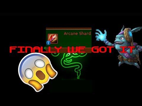 Arcane Legends | Guys We Got The Arcane Shard !