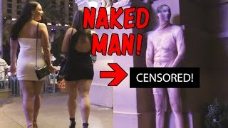 Naked Man IN PUBLIC PRANK!!