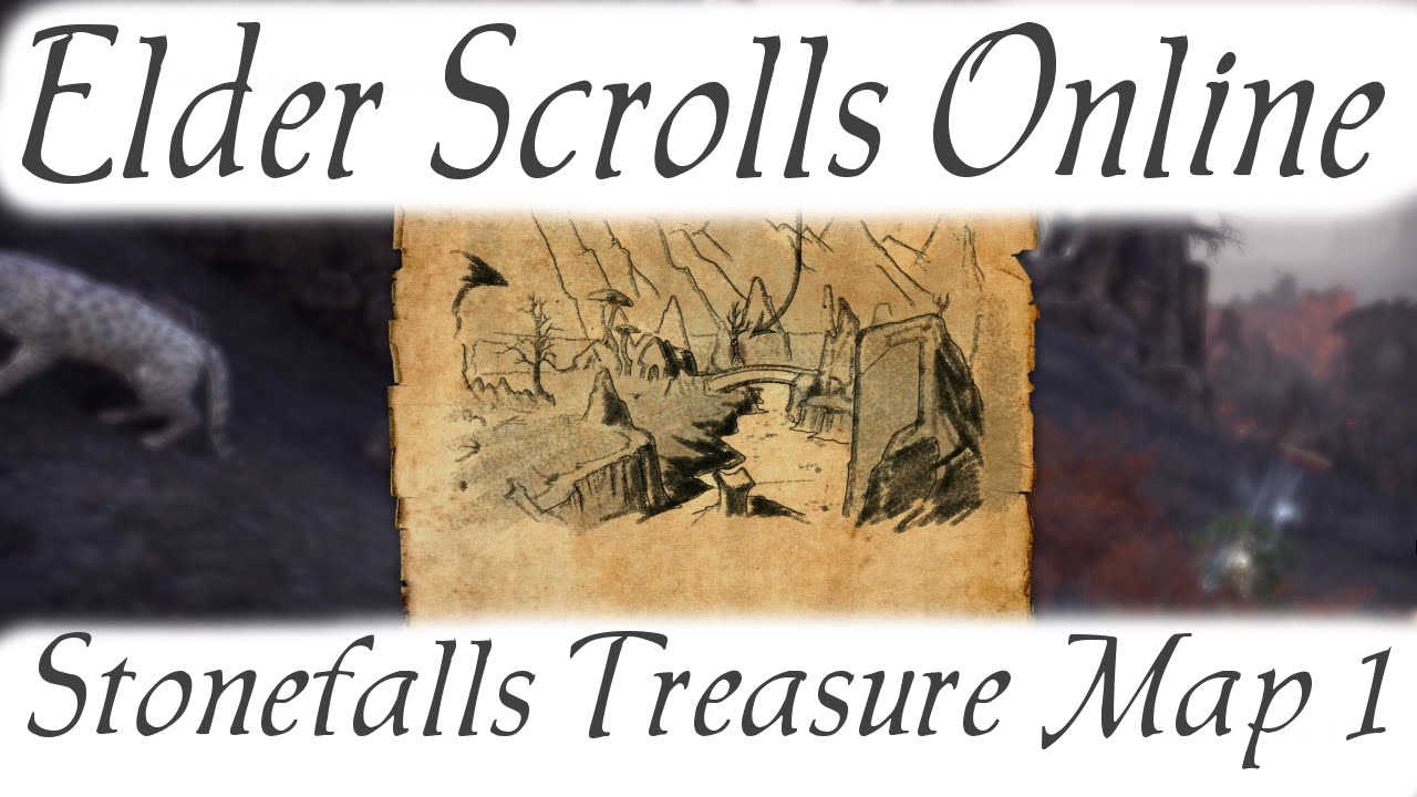 Stonefalls Treasure Map 1 [Elder Scrolls Online]