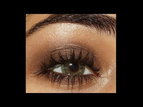 Easy Brown Smokey Eye Makeup Tutorial : part 2