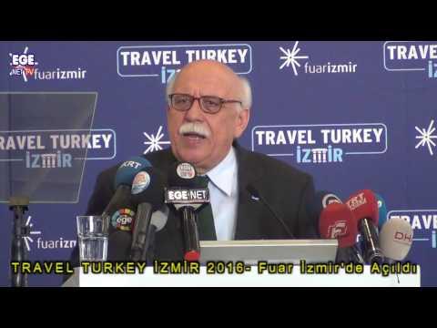 TRAVEL TURKEY İZMİR 2016  Fuar İzmir'de Açıldı