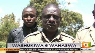Uhalifu Nyahururu |washukiwa 6 wanaswa