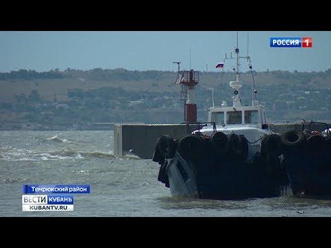 В Керченском проливе разыгрался шторм
