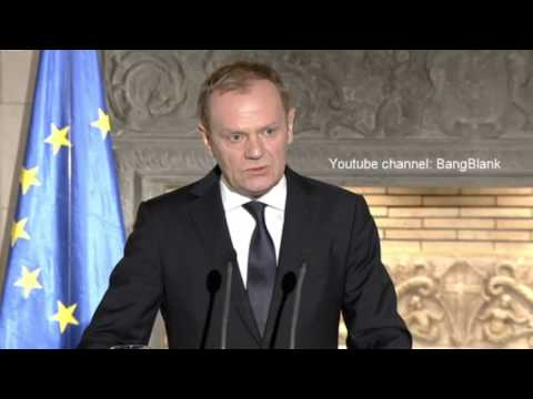 'Do not come to Europe' - Donald Tusk, President of the European Council