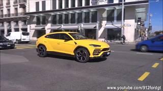 2018 Lamborghini Urus spotted driving on the road