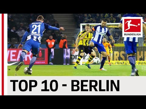 Top 10 Goals - Hertha Berlin - 2016/17 Season