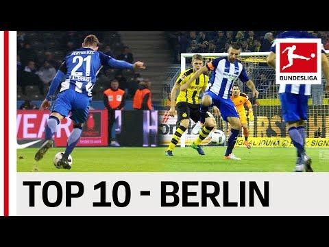 10 лучших голов «Герты» в сезоне-2016/17 Бундеслиги