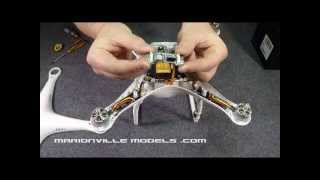 Revised Mounting of Zenmuse H3-3D Anti Interference Board for the DJI Phantom 2 Quadcopter