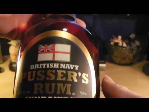 Pusser's Gunpowder Rum Fun!