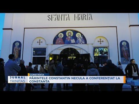 Părintele Constantin Necula a conferențiat la Constanța