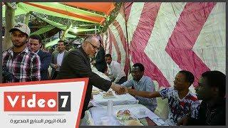 جامعة الأزهر تقيم حفل إفطار للطلاب الوافدين