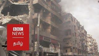 Syrians return to war torn Aleppo: BBC Tamil world news