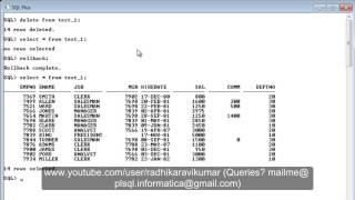SQL: Delete Vs Truncate Vs Drop
